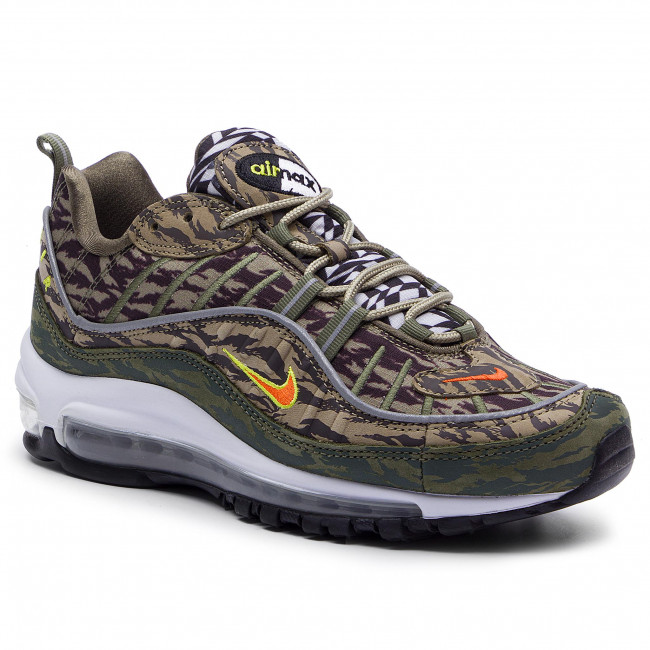Batai NIKE - Air Max 98 Aop AQ4130 200 Khaki/Team Orange/Medium Olive