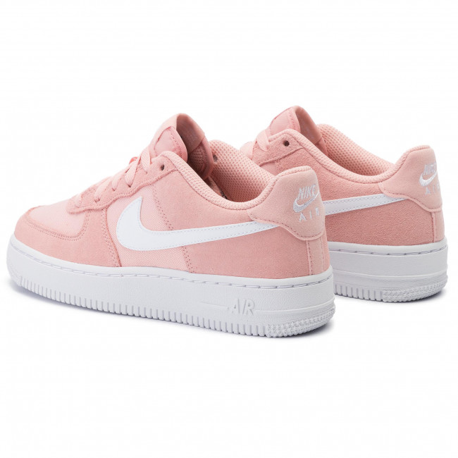 Buty NIKE Air Force 1 Pe (Gs) BV0064 600 Coral StardustWhite