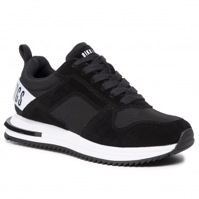 Sneakersy BIKKEMBERGS - Low Top Lace Up B4BKW0040 Black