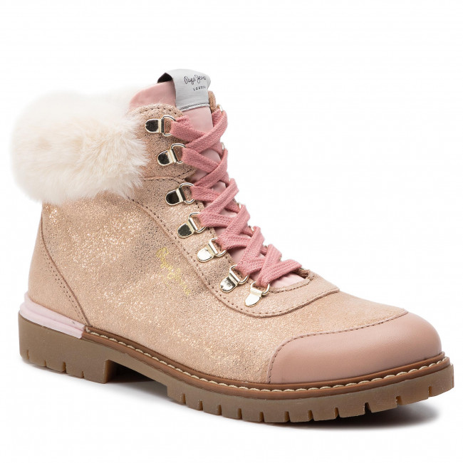 Trapery PEPE JEANS - Combat Mountain PGS50141 Powder Rose 318