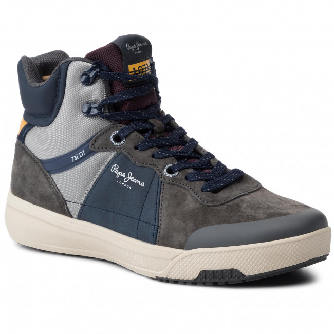 Sneakersy PEPE JEANS - Slate Pro Boot PMS30573 Dark Grey 975