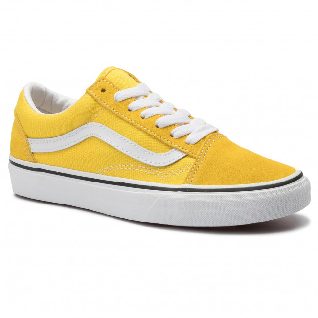 Sportbačiai VANS - Old Skool VN0A4BV5FSX1 Vibrant Yellow/True White