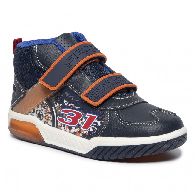 Sneakersy GEOX - J Inek B. A J949CA 05411 C0820 D Navy/Orange