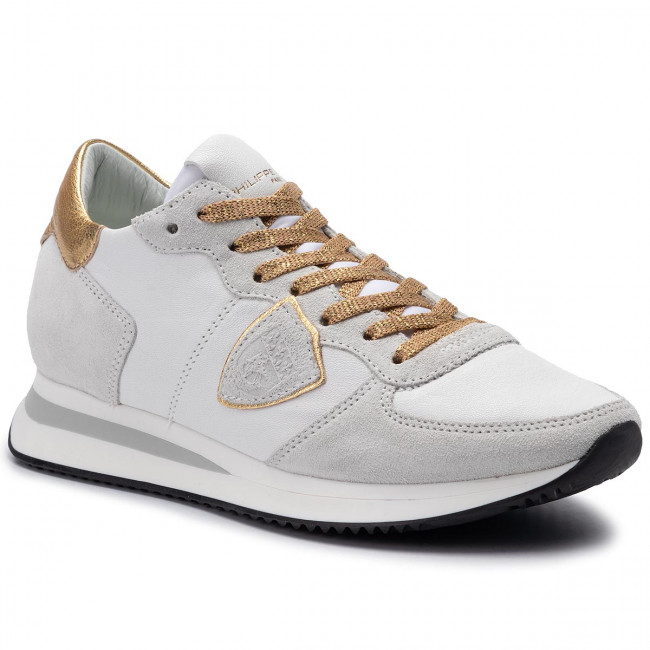 Sneakersy PHILIPPE MODEL - Trpx TZLD WX07 Blanc Or