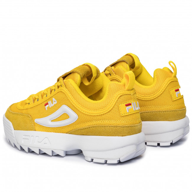 Sneakersy FILA Disruptor Mesh Low Wmn 1010606.60K Empire Yellow