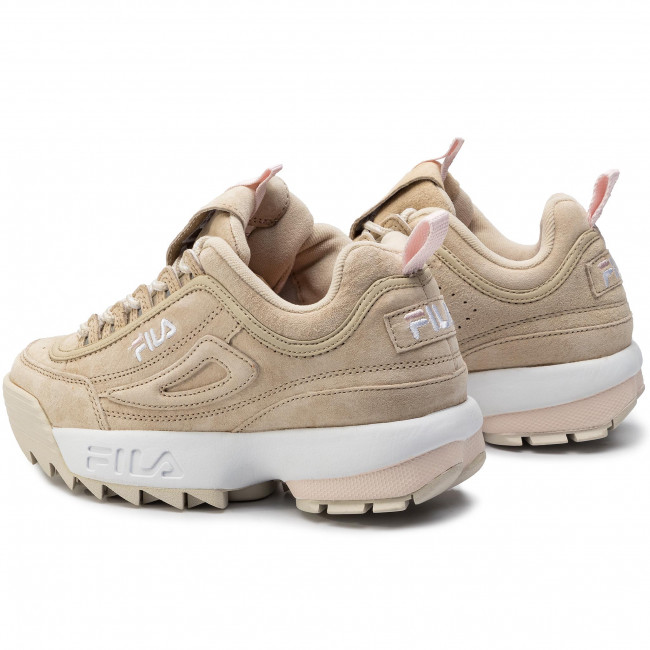 Sneakersy FILA Disruptor S Low Wmn 1010605.00J Feather Gray