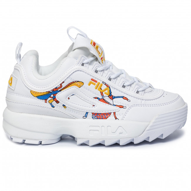 Sneakersy disruptor calabrone low wmn 1010609.90a calabrone (Fila)