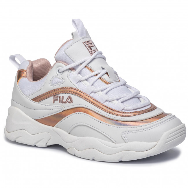 Sneakersy FILA Ray M Low 1010763.91R WhiteRose Smoke