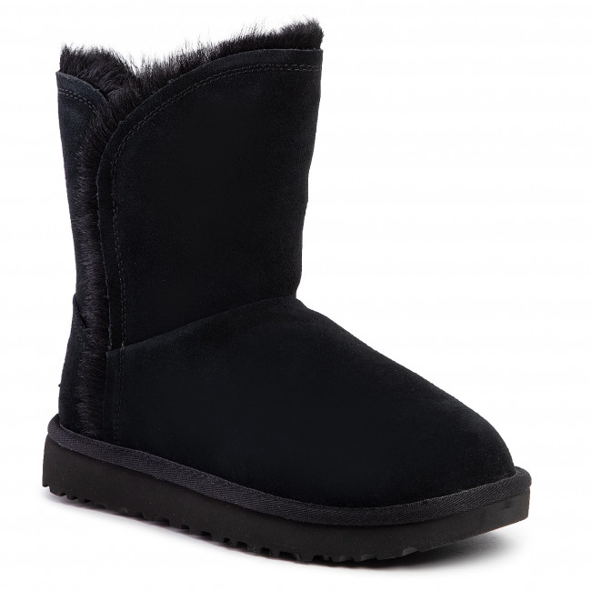 Buty UGG - W Classic Short Fluff High-Low 1103746  Blk