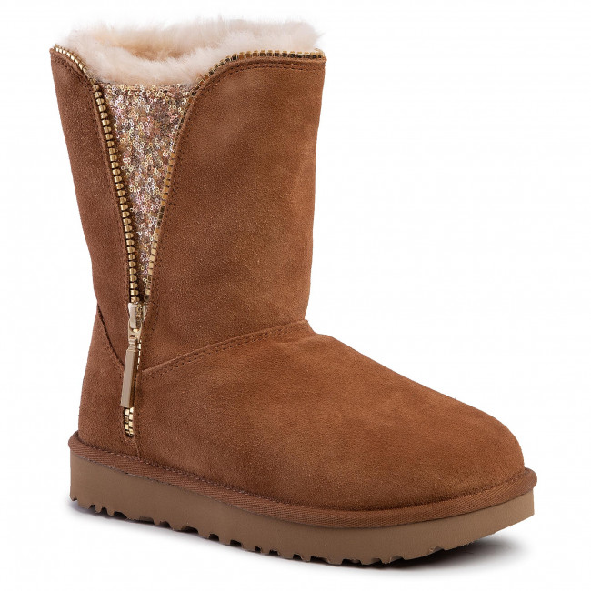 Buty UGG - W Classic Zip Boot 1103764  Che