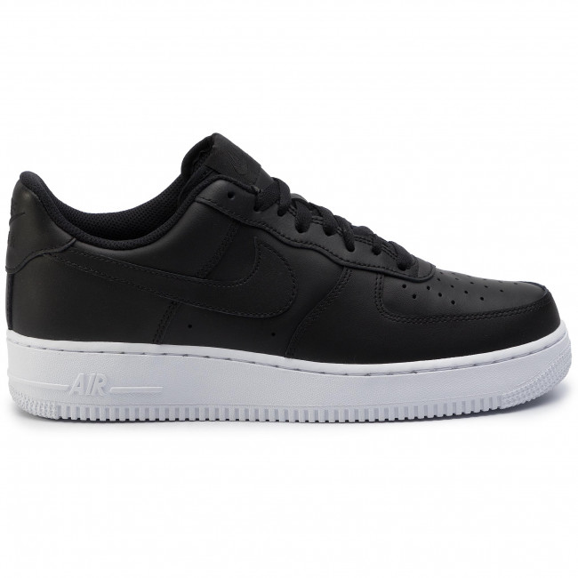 Buty NIKE Air Force 1 '07 AA4083 009 BlackBlackWhite