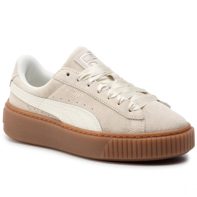 huge discount 0f40c 139b6 Sneakersy PUMA - Suede Platform Bubble Wn's 366439 02 Marshmallow