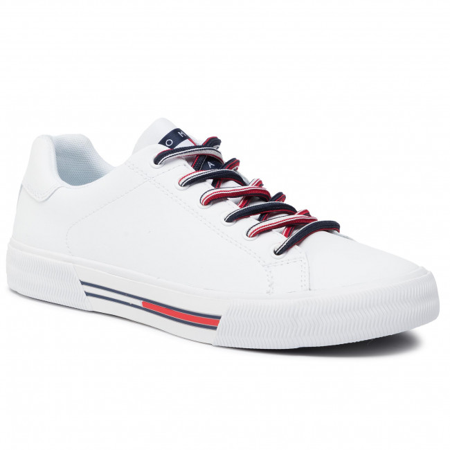 Laisvalaikio batai TOMMY JEANS - Essential Tommy Jeans Sneaker EM0EM00389  White YBS