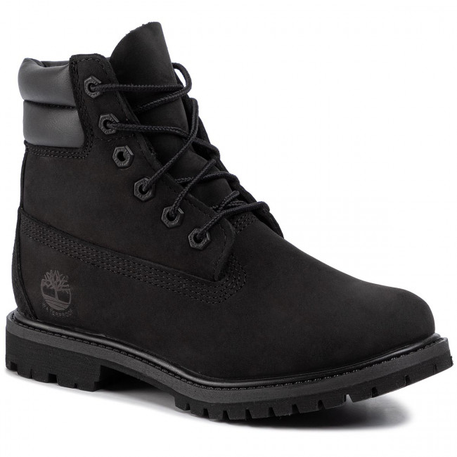 Trapery TIMBERLAND - Waterville 6 In Waterproof Boot TB0A15QY0011 Black Nubuck