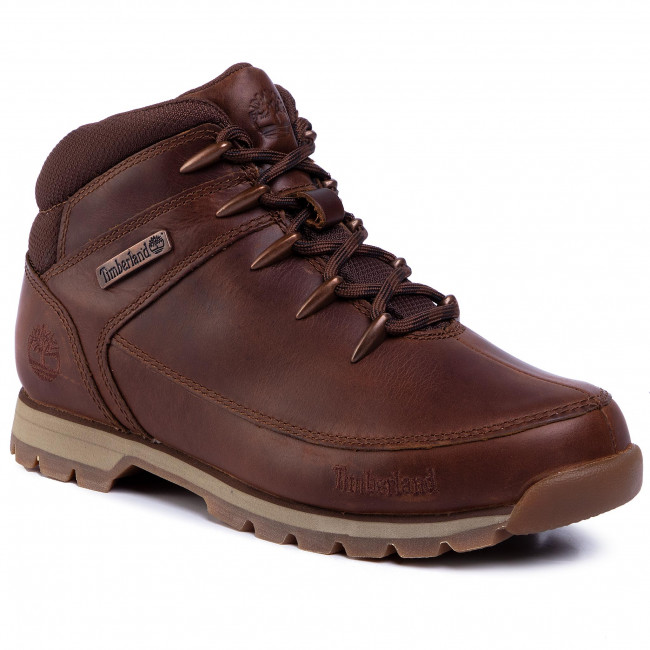 Trapery TIMBERLAND - Euro Sprint Hiker TB0A24AM140 Md Brown Full Grain