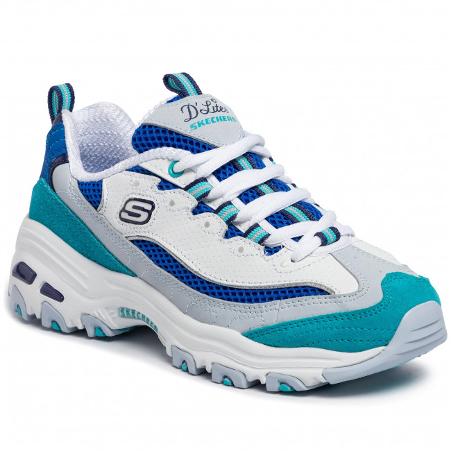 Sneakersy SKECHERS Second Chance 13146WBL WhiteBlue
