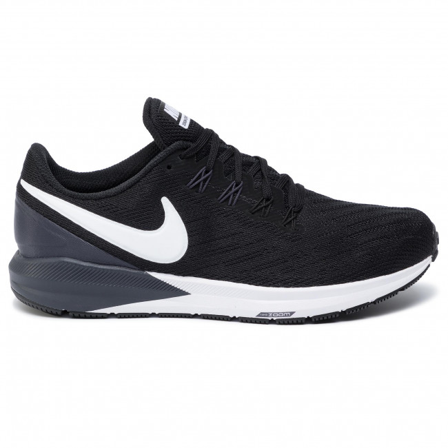 Buty NIKE Air Zoom Structure 22 AA1636 002 BlackWhiteGridiron