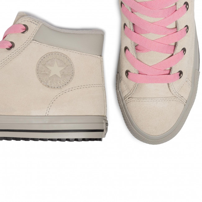 Sneakersy CONVERSE - Ctas Pc Boot Hi 665164C Natural Ivory/Costal Pink - Sneakersy - Półbuty - Damskie
