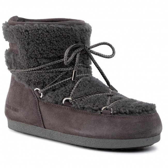 Śniegowce MOON BOOT - Far Side Low Shearl. 24200800001 Anthracite