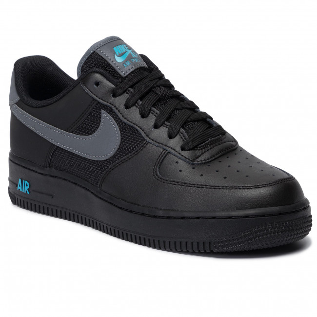 Buty NIKE Air Force 1 '07 Lv8 BV1278 001 BlackCool GreyBlue Fury