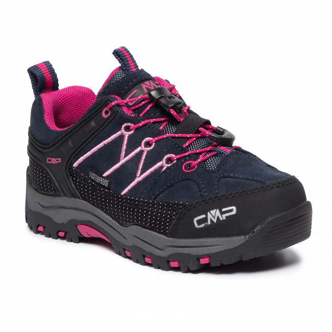 Trekkingi CMP - Kids Rigel Low Trekking Shoes Wp 3Q13244 Black Blue/Rose 80BN
