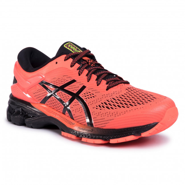 Buty ASICS Gel Kayano 26 1011A541 Flash CoralBlack 700