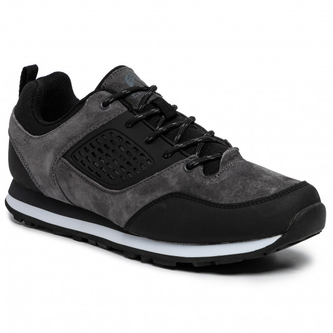Sneakersy ELBRUS - Atilo  Dark Grey/Black