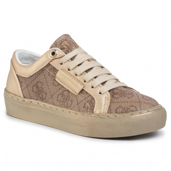 Sneakersy GUESS - Lucy FI5LUC FAL12  BEIGE