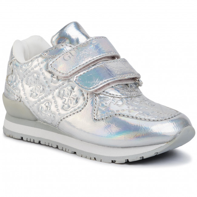 Sneakersy GUESS - Tessa FT5TES FAL12 SILVER