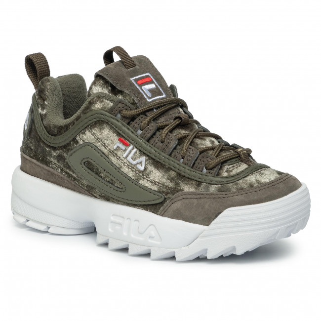 Sneakersy FILA - Disruptor V Low Wmn Cr 1010555.50I Olive Night