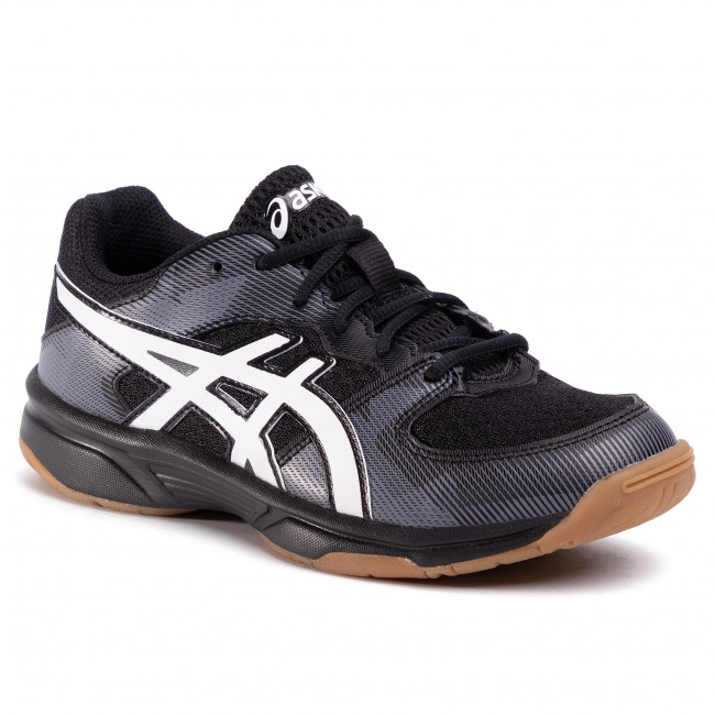 Buty ASICS - Gel-Tactic GS 1074A014  Black/White 003