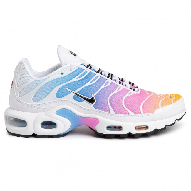 Buty NIKE Air Max Plus 605112 115 WhiteBlackUniversity Blue