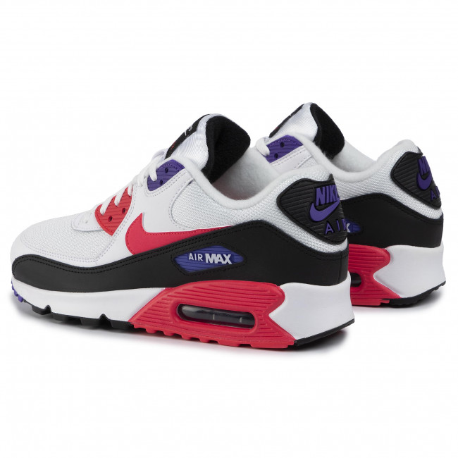 Buty NIKE Air Max 90 Essential AJ1285 106 WhiteRed OrbitPsychic Purple