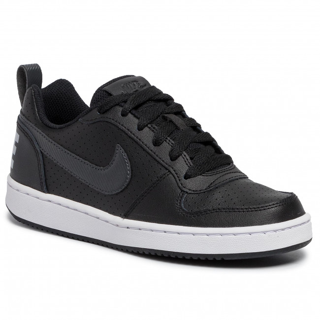 Buty NIKE Court Borough Low Ep (Gs) BV0744 001 BlackAnthracite
