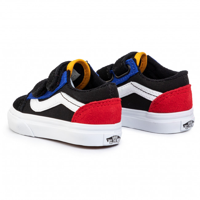 Tenisówki VANS Old Skool V VN0A38JNVIG1 (Color Block)BlackTrue