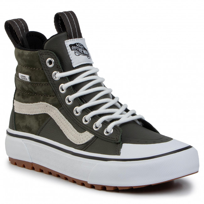 Sneakersy VANS Ski8 Hi Mte 2.0 Dx VN0A4P3ITUI1 (Mte) Forest NightTr Wht