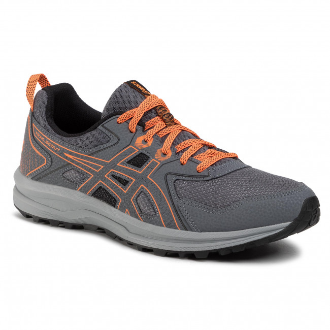Buty ASICS - Trail Scout 1011A663 Metropolis/Schocking Orange 020