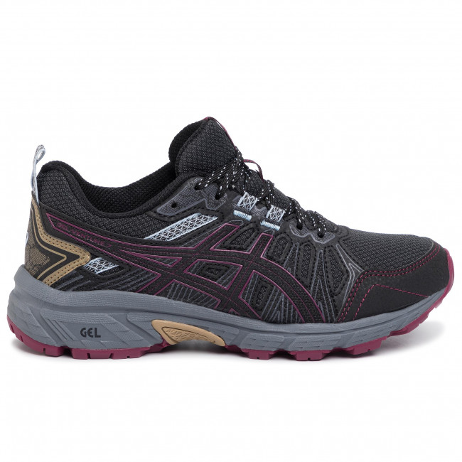 Buty ASICS Gel Venture 7 1012A476 Graphite GreyDried Berry 023