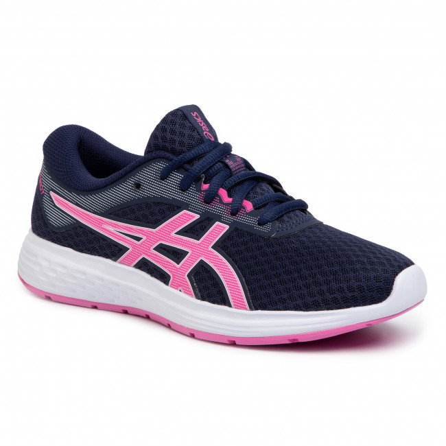 Buty ASICS - Patriot 11 GS 1014A070  Peacoat/Dragon Fruit 402