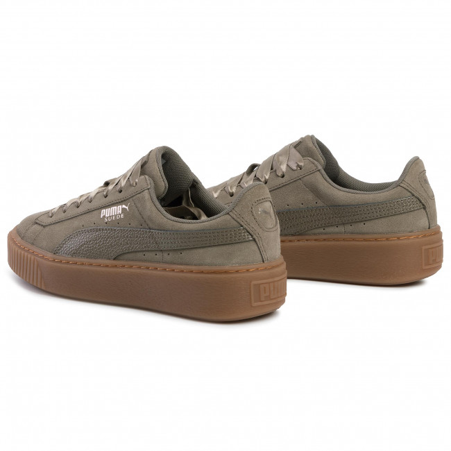 Sneakersy PUMA Suede Platform Bubble Wn's 366439 03 Bungee Cord