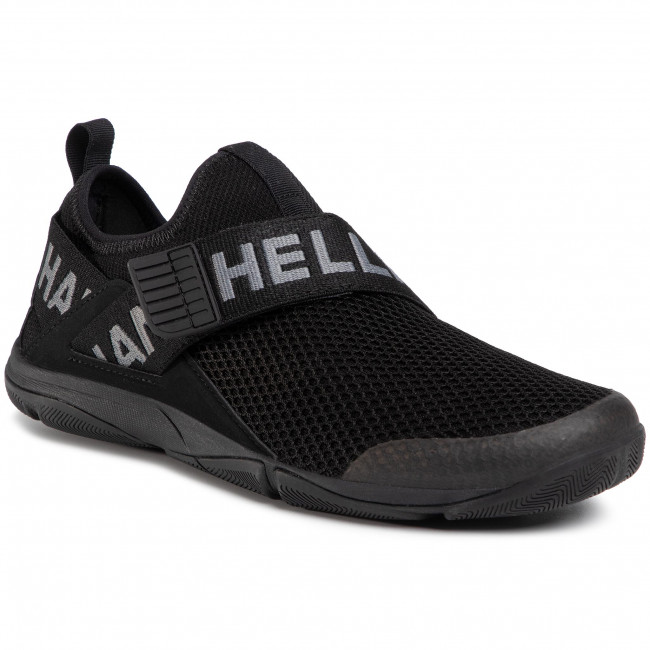 Buty HELLY HANSEN - Hydromoc Slip-On Shoe 11467_990  Black/Charcoal/Azid Lime