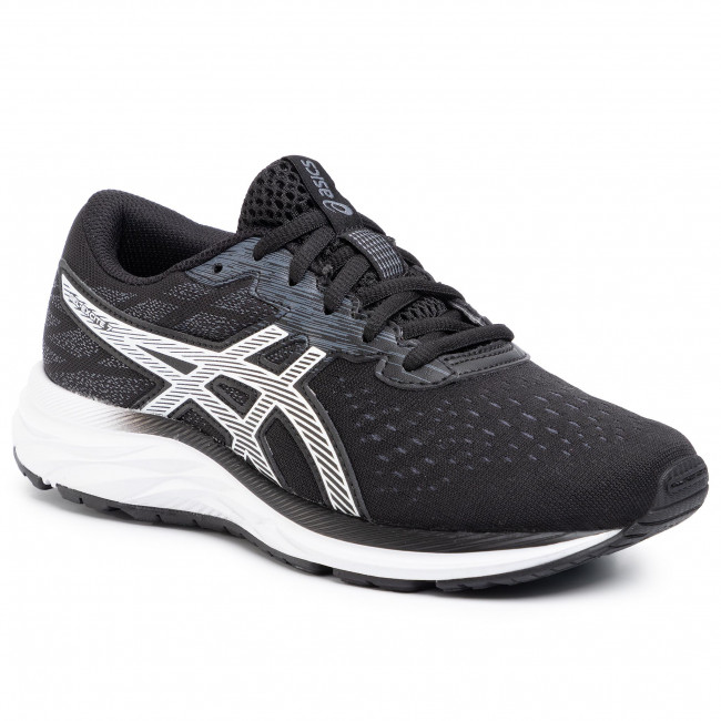 Buty ASICS - Gel-Excite 7 GS 1014A084 Black/White 001