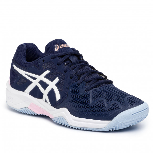 Buty ASICS Gel Resolution 8 Clay Gs 1044A019 PeacoatCotton Candy 401