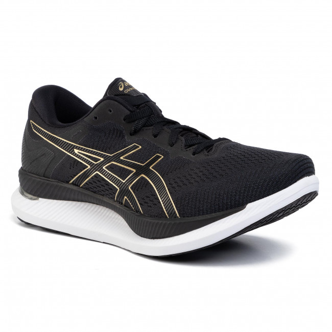 Buty ASICS - GlideRide 1011A817 Black/Pure Gold 001