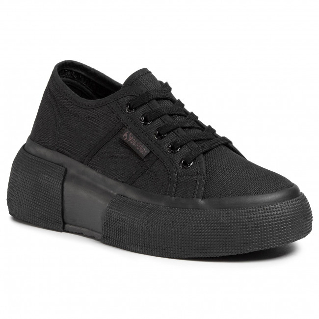 Sneakersy SUPERGA -  2287 Cotw S00DQS0 Total Black 997