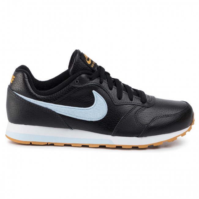 buty nike md runner black with blue