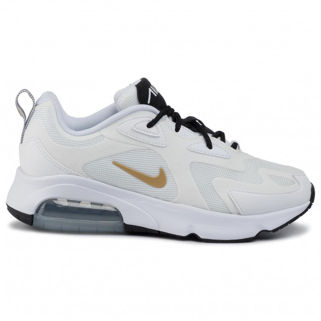 Buty NIKE Air Max 200 AT6175 102 WhiteMetallic GoldBlack