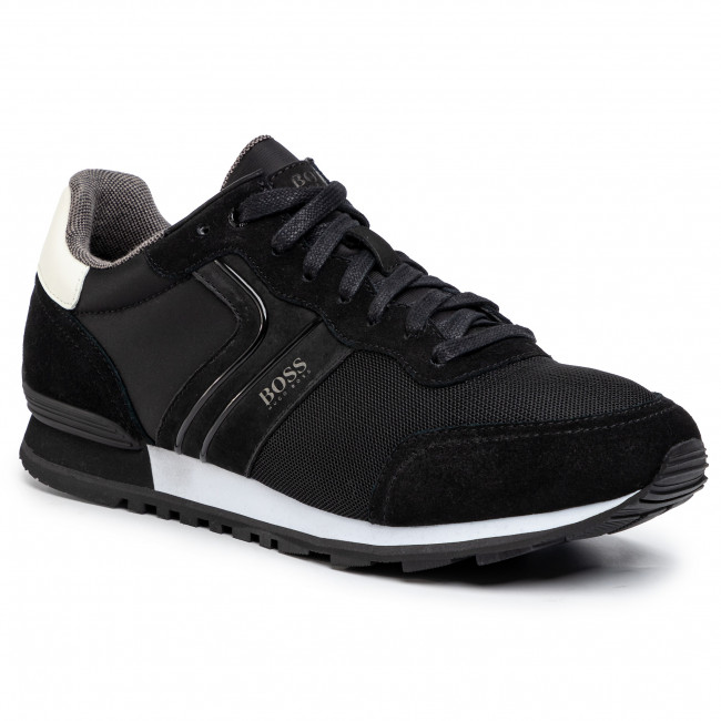 Sneakersy BOSS - Parkour 50433661 10214574 01 Black 003