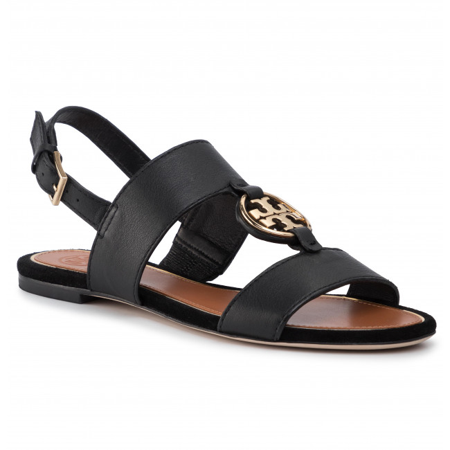 Sandały TORY BURCH - Metal Miller 63246 Perfect Black/Gold 013