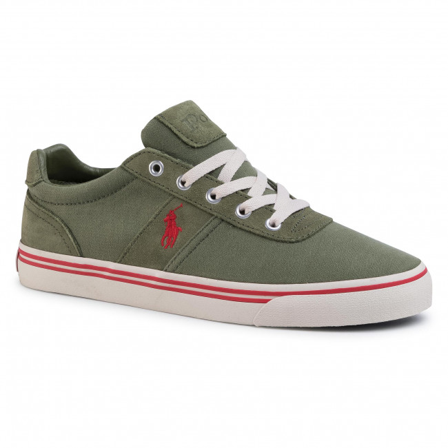 Tenisówki POLO RALPH LAUREN - Hanford 816799510002 Green/Red Pp